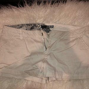 beige volcom shorts
